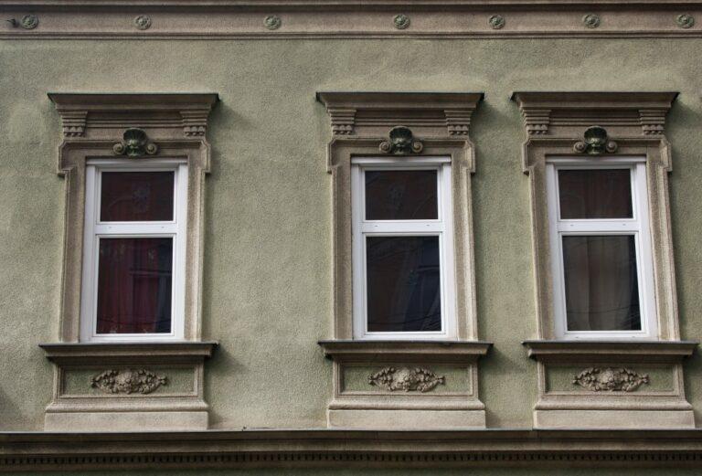 Fenster, Dekor, Giebel, Gründerzeithaus