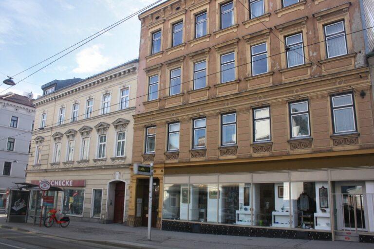 Gründerzeithäuser in der Wilhelminenstraße in Wien-Ottakring
