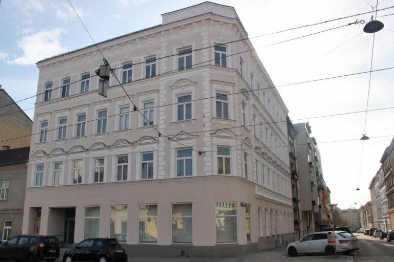 Eckhaus in Wien-Ottakring, Gründerzeit, Jahrhundertwende