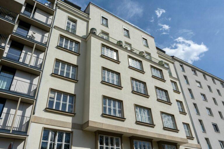 Wohnhaus, Modenapark, Moderne, Wien, Landstraße