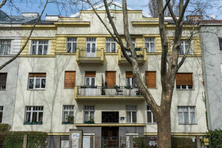 Gebäude, Hietzing, Wien, klassische Moderne