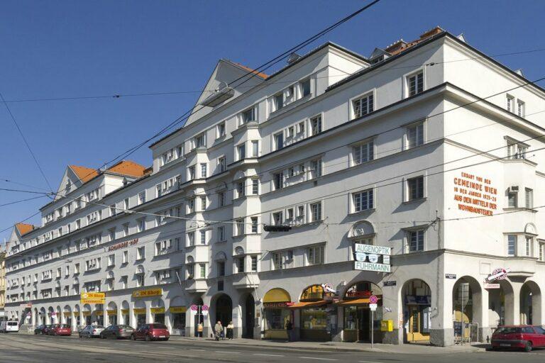 Schlingerhof, Gemeindebau, Brünner Straße, 1210 Wien