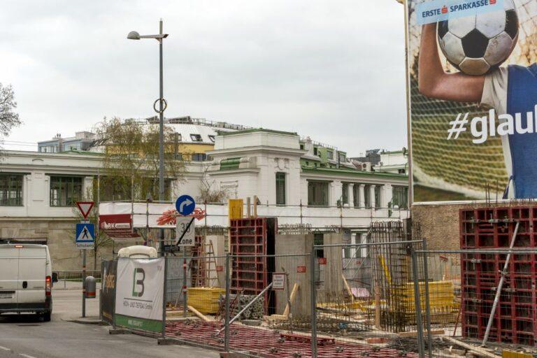 """Baustelle am Mariahilfer Gürtel, Clementinengasse, Station """"Gumpendorfer Straße"""""""
