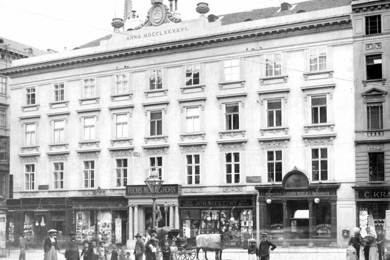 Gebäude am Hohen Markt in Wien