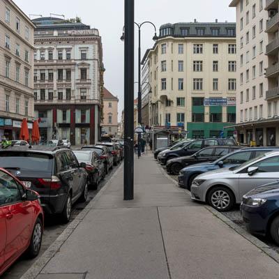 Hoher Markt: Ohne Platz und ohne Markt