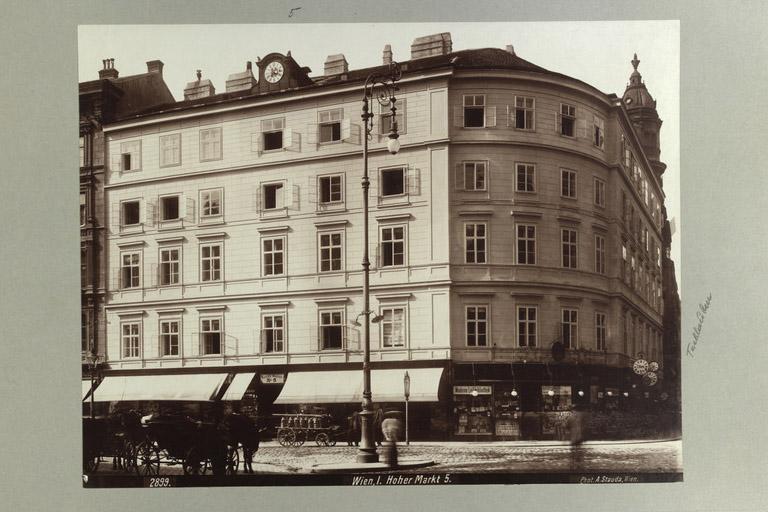 Gebäude Hoher Markt 5, Tuchlauben