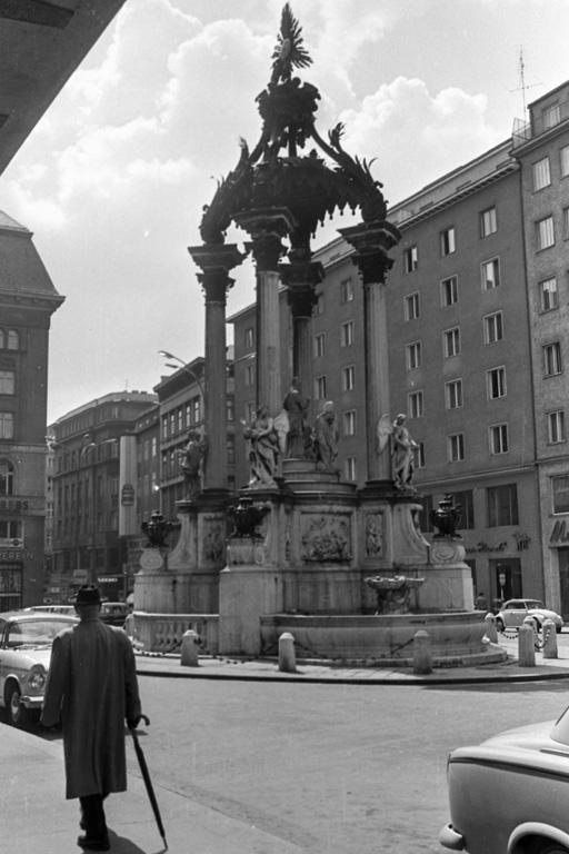 Brunnen am Hohen Markt, 1. Bezirk, Wien