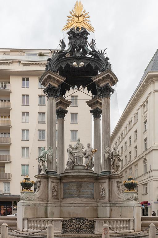 Vermählungsbrunnen am Hohen Markt