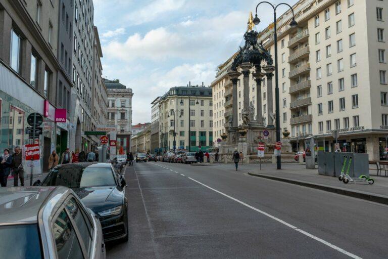 Hoher Markt und Vermählungsbrunnen in Wien