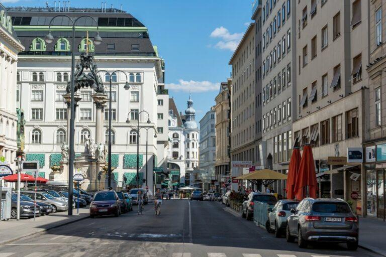 Hoher Markt, Rotenturmstraße, Lugeck, Brunnen