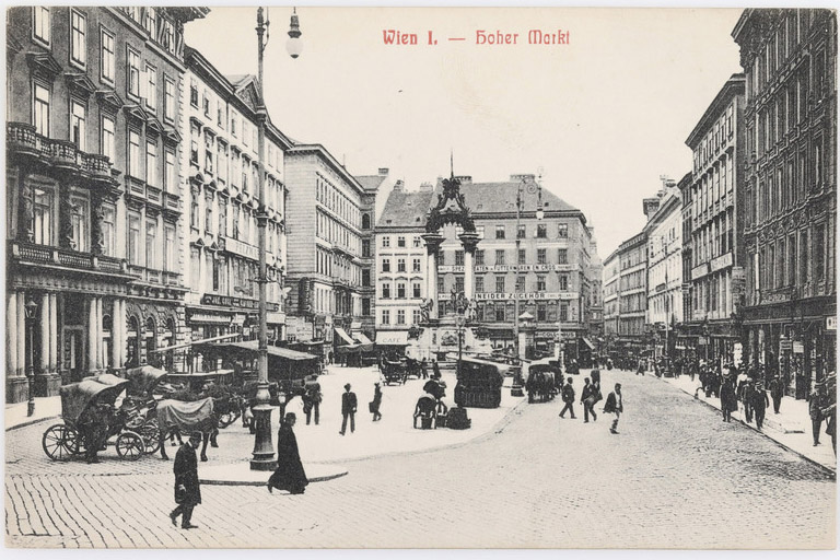 historische Fotoaufnahme, Wien