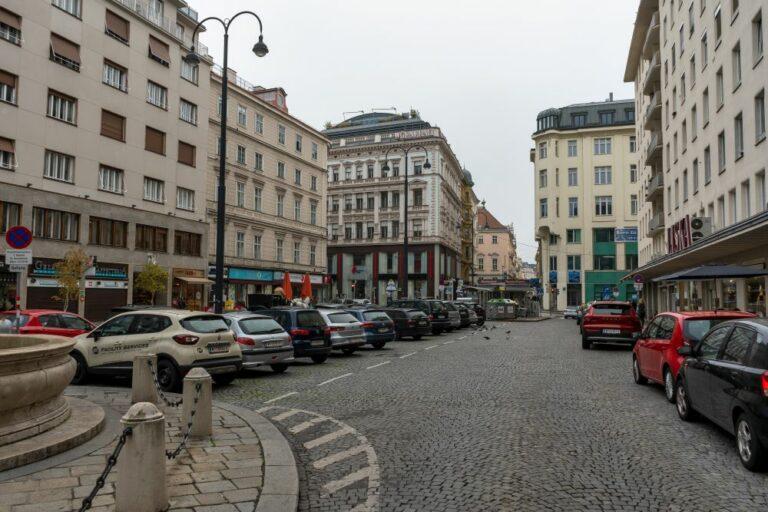 Hoher Markt, Autos, Pflasterung, Wien