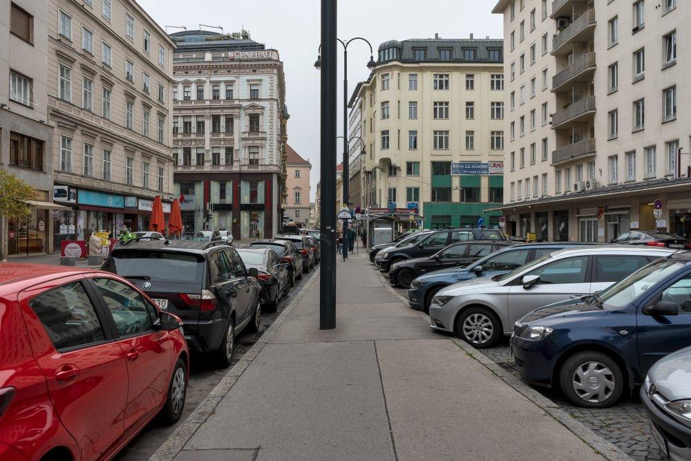 Hoher Markt, Autos, Asphalt, Platz, 1010 Wien