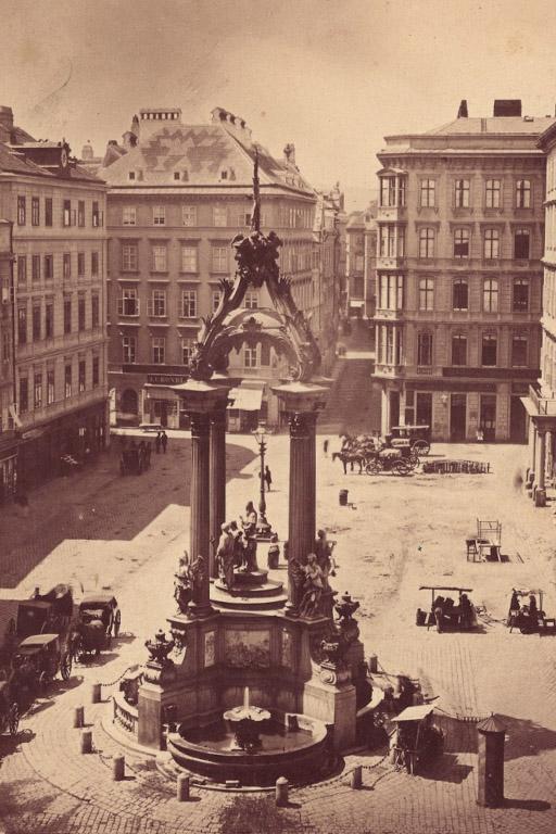 Denkmal am Hohen Markt in Wien