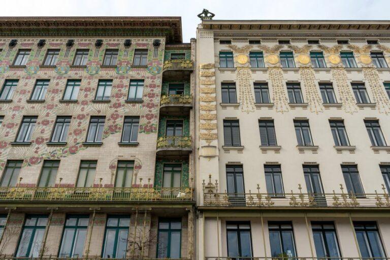 Wienzeilenhäuser von Otto Wagner, Jugendstil, Mariahilf, Wien