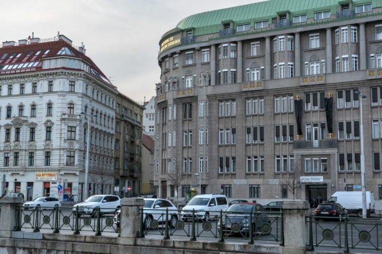 historische Gebäude, Linke Wienzeile, Mariahilf, Joanelligasse, Wien