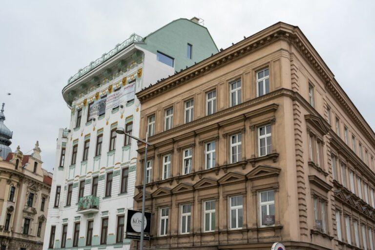 Altbauten am Gürtel, 1150 Wien, Jugendstil, Historismus