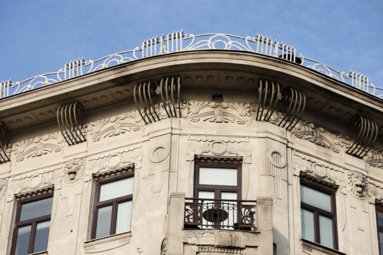 Gesims, Jugendstil, Mariahilfer Gürtel, Wien