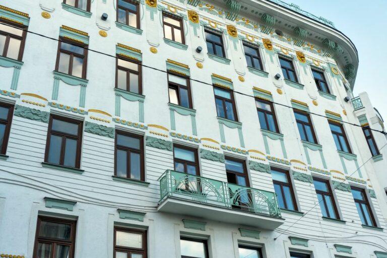 Jugendstilhaus, 1150 Wien, Fassade, renoviert