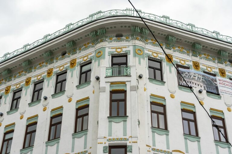 Jugendstilhaus, Mariahilfer Gürtel, Sechshauser Straße, Wien