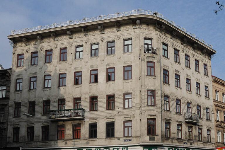 Jugendstilhaus, Rudolfsheim-Fünfhaus, Mariahilfer Gürtel, Wien