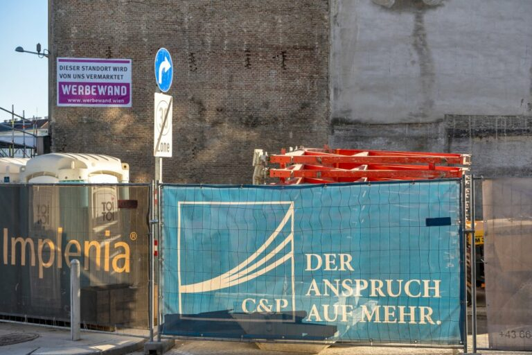 Baustelle, Clementinengasse, Mariahilfer Gürte, Rudolfsheim-Fünfhaus