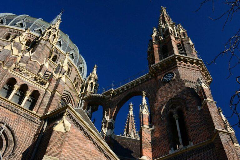 Maria vom Siege, Kirche, Neugotik, Backstein, Wien