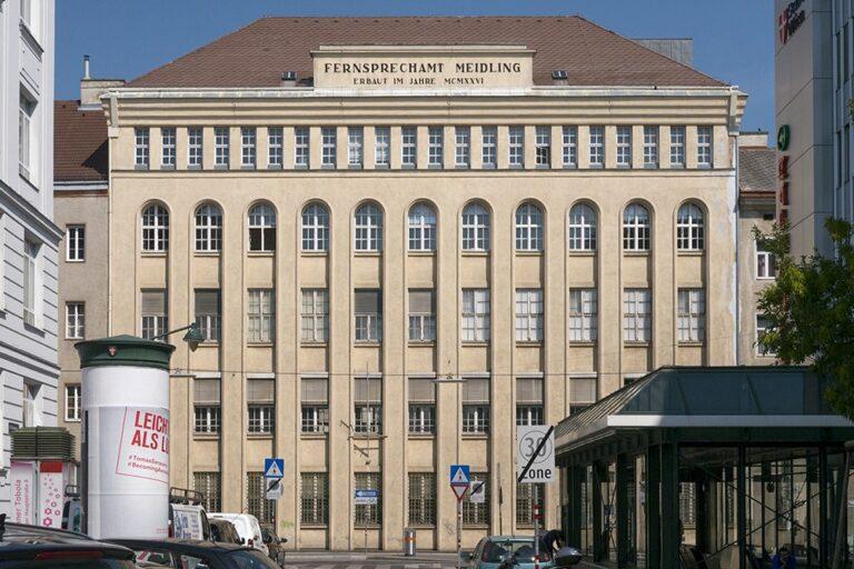 Fernsprechamt Meidling, Niederhofstraße, Wien