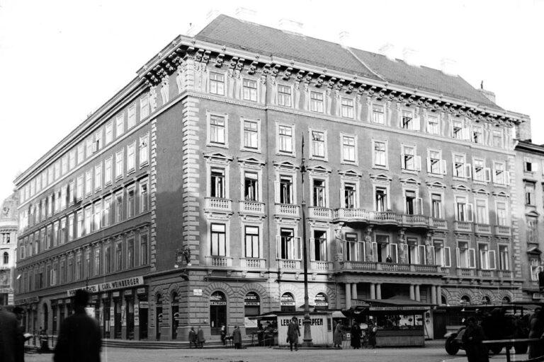 Palais Sina am Hohen Markt in Wien