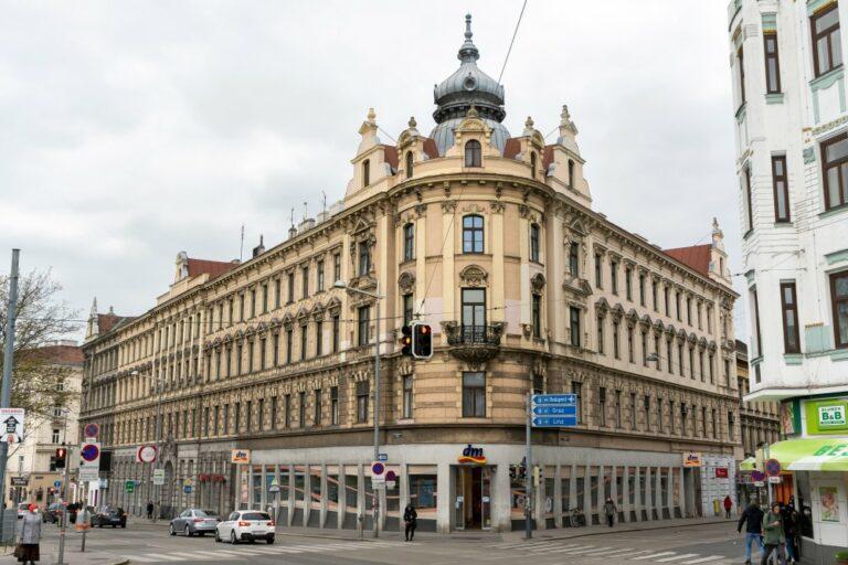 Historismus-Gebäude, Gumpendorfer Gürtel, Sechshauser Straße, Wien