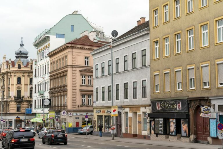 Gürtel in Rudolfsheim-Fünfhaus, Wien