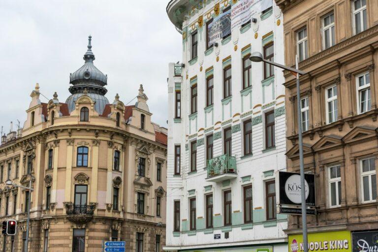 Gründerzeithäuser, Gürtel, Sechshauser Straße, Wien