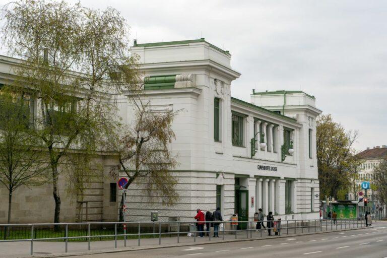 """U6-Station """"Gumpendorfer Straße"""", Jugendstil, Wien"""