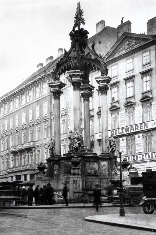 Brunnen am Hohen Markt, Palais, Sina, Wien, Innere Stadt