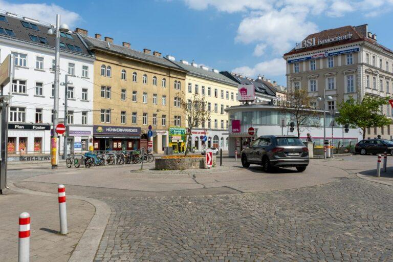 Fasanplatz: Kreisverkehr statt lebendiger Platz (2021)