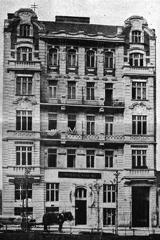 Gaudenzdorfer Gürtel 47, Gründerzeithaus, historische Aufnahme, Wien