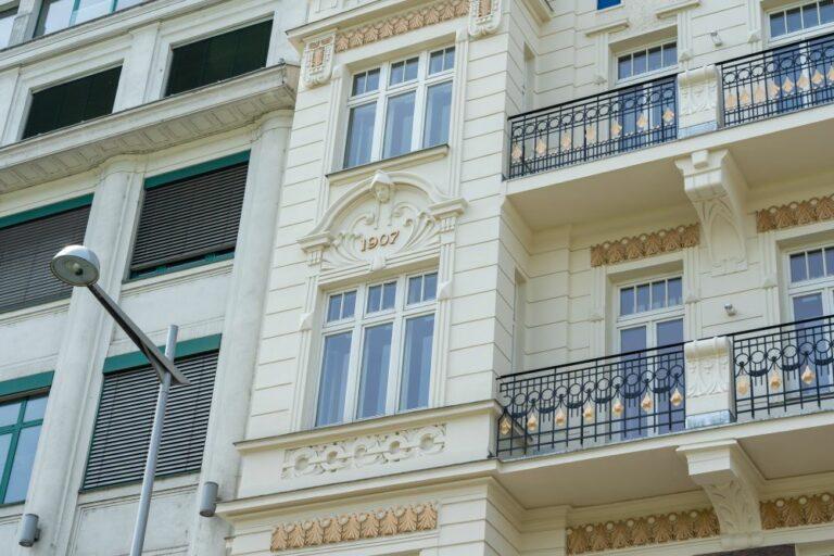 Gründerzeithaus, Meidling, renoviert