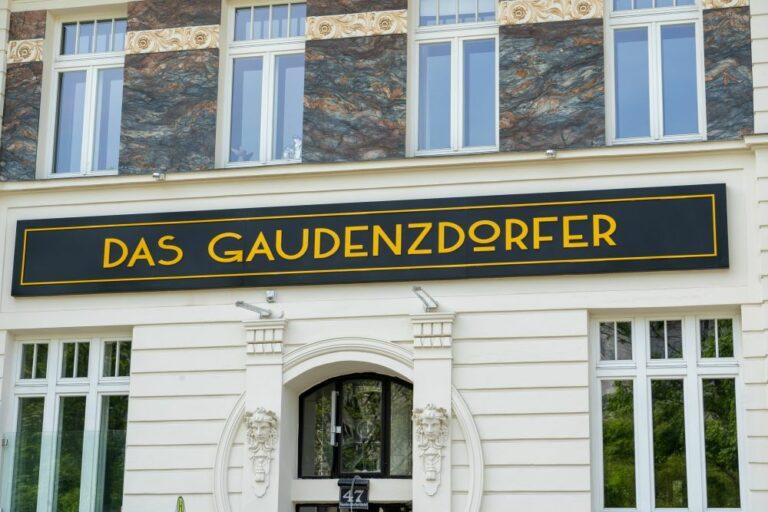renovierte Fassade, Wien-Meidling