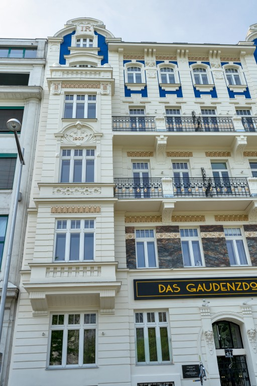 Historismus-Fassade, Rekonstruktion, Wien, 12. Bezirk
