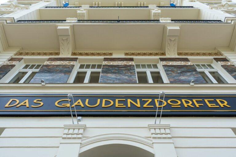 Das Gaudenzdorfer, Fassade, Jahrhundertwende, Gürtel, Meidling