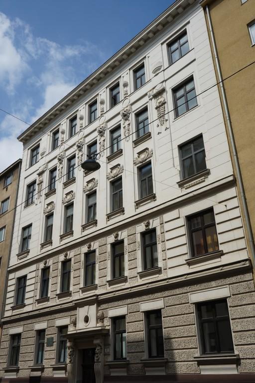 Jahrhundertwendehaus, Fasanviertel, 3. Bezirk, Wien