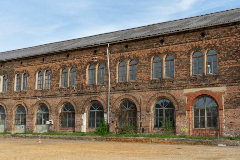 historische Halle, Backstein, 10. Bezirk, Wien, Neues Landgut