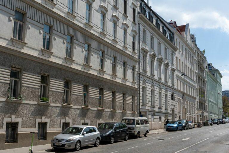 Jahrhundertwendehäuser, Fasanviertel, Wien