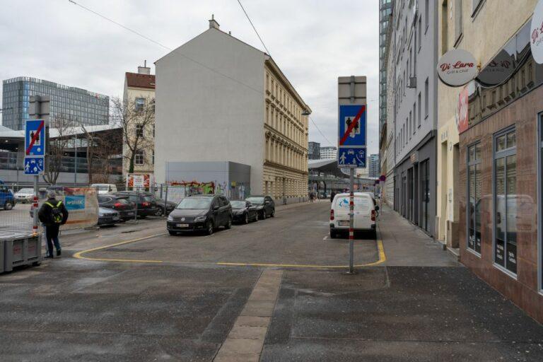 Favoritenstraße, Hauptbahnhof, Fußgängerzone, Wohnstraße