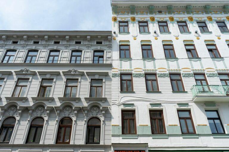 Altbauten in Wien, Historismus, Jugendstil, 15. Bezirk