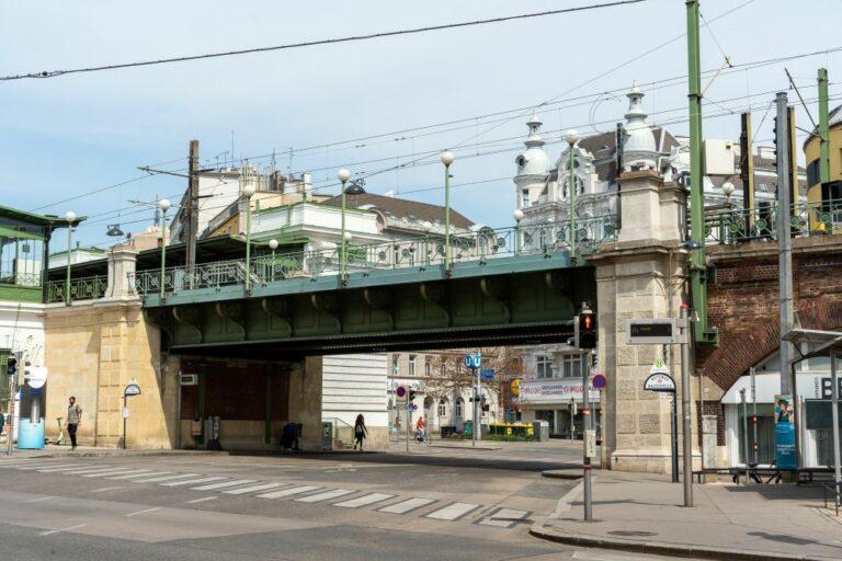 Brücke, U-Bahn, Jugendstil, Otto Wagner, Gürtel, Wien