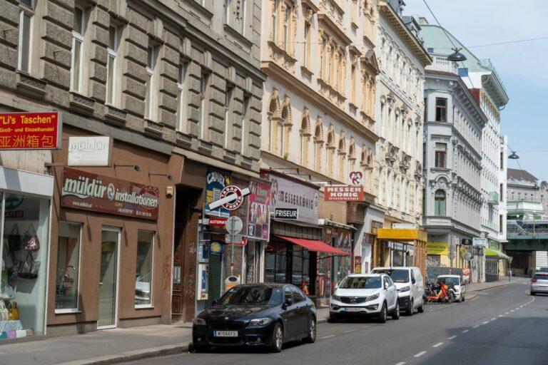 Gründerzeithäuser in Rudolfsheim-Fünfhaus, Wien