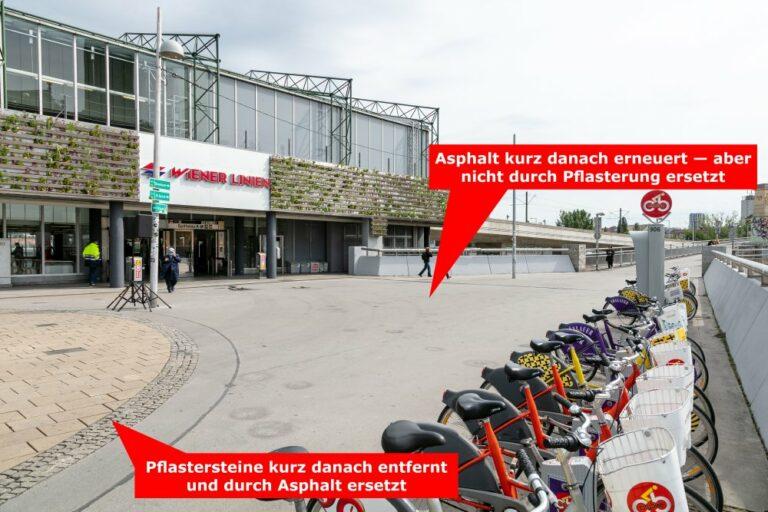 Spittelau, Vorplatz, Fahrräder, 1090 Wien