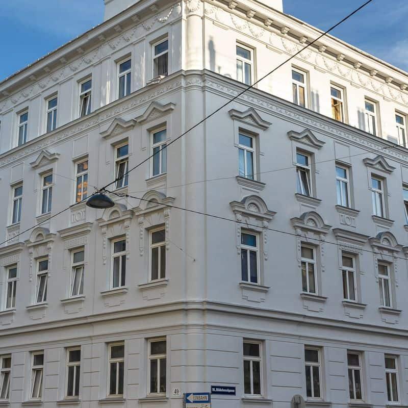 Read more about the article Staudgasse 49: Fassade rekonstruiert