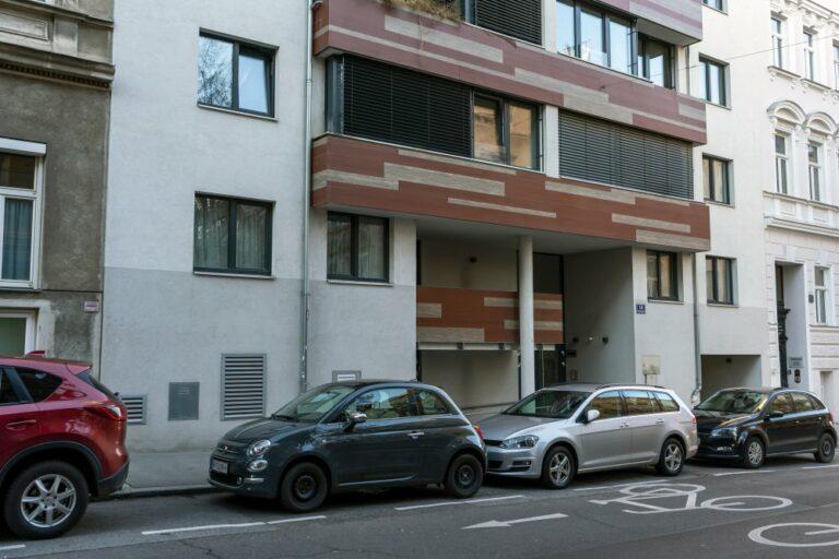 Erdgeschoß des Gebäudes Borschkegasse 14, 1090 Wien, Neubau, Wohnhaus